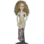Wonderful BJD Doll Ball Jointed Doll Gorgeous Face Dollstown  Glass Eyes