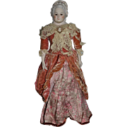 Old Artist Doll Clairmade Martha Washington Glass Eyes