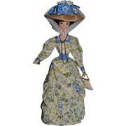 Artist Doll Signed Wax German  Marguerite Uebel Fancy W/ Accessories Vintage