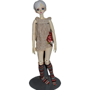 "Wonderful Ball Jointed Doll BJD Flower Child So sweet Unusual Artist Doll 21"" Tall"