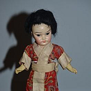 Antique Doll SCHOENHAU & HOFFMEISTER Oriental Petite Size Doll Wonderful Bisque