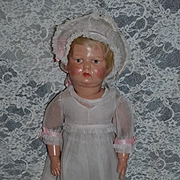Antique Doll Schoenhut Wood Carved Jointed Doll W/ Original Schoenhut Shoes Original Clothes