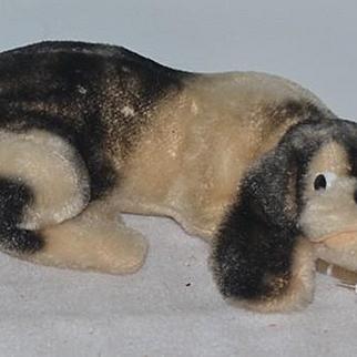 Vintage Dog Stuffed Animal Mohair Doll Friend Adorable