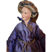Old Rare Evelyn Green Artist Doll French Lady Doll One of A Kind