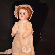 Antique French E. D. BEBE Doll Bisque W/ Original Clothes