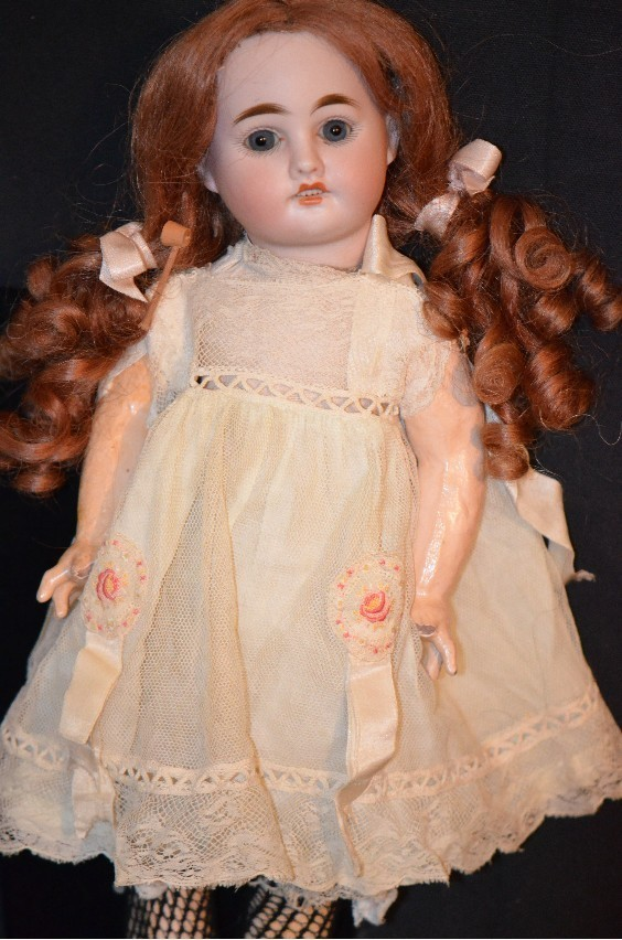 Antique Sonnenberg Doll Bisque Beautiful Cabinet Size