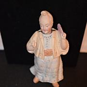 Antique Doll Nodder Oriental Bisque Figurine Miniature