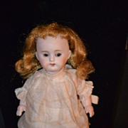 Antique Doll Kestner Bisque Miniature Pink Socks Child Like SO CUTE!