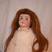 Sale  Antique Doll French Bisque TeTe Jumeau BEBE Sfbj Signed Head & Body