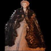 Doll Parian China Head Lee Ed Beautiful