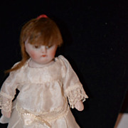 Antique Doll Miniature All Bisque DOllhouse Kestner