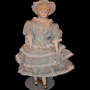 Vintage Lee Ed Doll Gorgeous China Head & Dressed