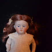 Antique Doll All Bisque Kestner Miniature Dollhouse