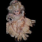 Antique Doll All Bisque Miniature Dollhouse Mignonette