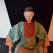 Antique Oriental Opera Doll Ornate Orig Clothes