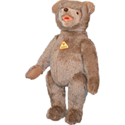 Wonderful Teddy Bear Educa W/ Tag Jointed German Large For Doll