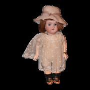 Antique Doll Bisque Miniature DEP Adorable Dollhouse