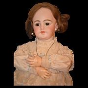Antique Doll RARE Simon & Halbig 1009 Closed Mouth DEP Bisque
