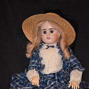 Antique Doll French Etienne Denamur Bisque E. D. Bebe