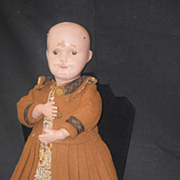 Antique Doll Schoenhut Wood Carved Jointed