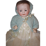 Antique Doll Bisque Character Baby Unusual