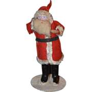 Old Doll Santa Papier Mache Miniature Dollhouse