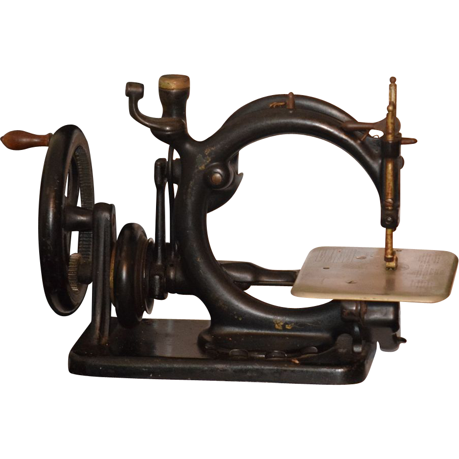 antique miniature sewing machine