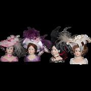 Vintage Doll Miniature Millinery Pat Stevens Hats & Heads Store