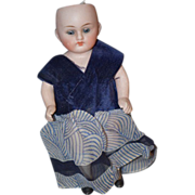 Antique Doll Miniature Bisque Dollhouse All Bisque