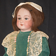 Antique Doll French Bisque S.F.B.J. TeTe Jumeau W/ Stamp