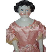Antique Doll China Head Conta & Boehme Wonderful