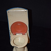Vintage Doll Tin Toilet Miniature Dollhouse