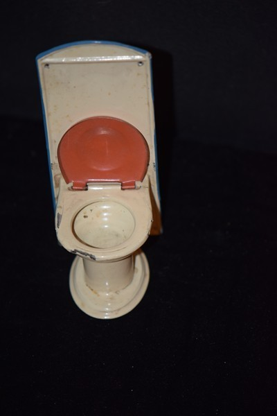 Vintage Toy Potty : Vintage doll tin toilet miniature dollhouse from