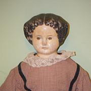 Antique Doll Papier Mache Big Greiner?