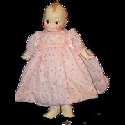 Vintage Doll Kewpie Wax Lewis Sorensen Adorable