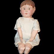 Antique Doll Cloth Philadelphia Baby Oil Cloth Adorable