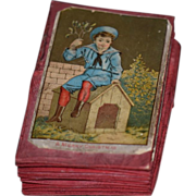 Old Doll Miniature Screen or Photo Album Great Display W/ Doll or in a Dollhouse Fashion Doll Scrap Book