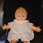 Antique Doll Sweets Maud Tousey Fangel A Georgene Oil Cloth Award Winning