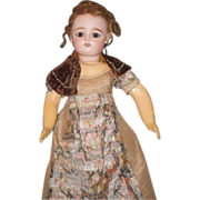 Antique Doll French FG Bisque Fashion Lady Gorgeous