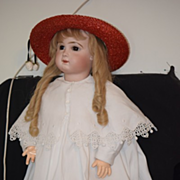 Antique Doll French Bisque Bebe TeTe Jumeau Signed Body GORGEOUS Size 14 Beautiful