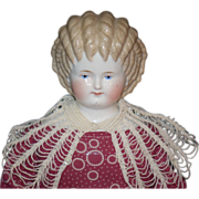 Antique ABG China Head Curly Top Gorgeous