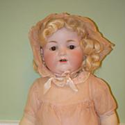 Antique Doll Bisque Armand Marseille 990 All Original Clothing W/ Tag