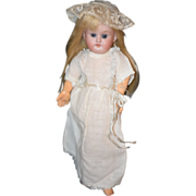 Antique Doll Miniature Schoenau &  Hoffmeister Bisque Head Composition Boyd Adorable
