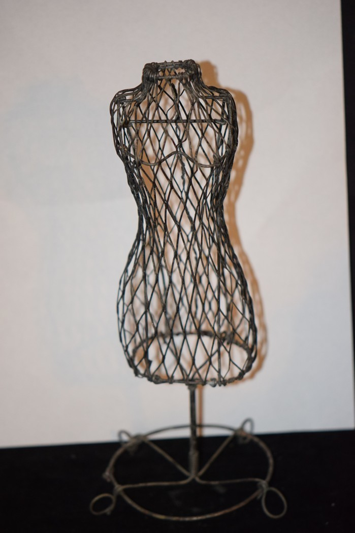 Old Doll Dress Form Mannequin For Fashion Doll Miniature Ornate ...