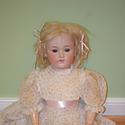 Antique Doll Bisque George Borgfeldt Doll Pale Bisque Sweet Face
