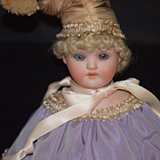 Antique Doll Bisque Marriott Musical Twirling Toy