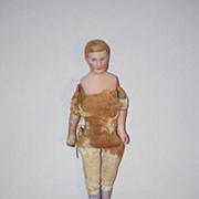 Antique Doll Miniature Dollhouse Man Doll House