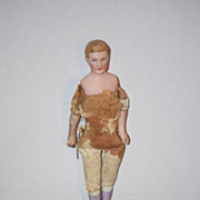 Antique Doll Miniature Dollhouse Man Doll House