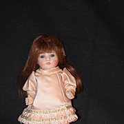 Antique Doll Bisque Glass Eyes Miniature Jointed