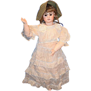 Antique Doll French Steiner Figure A Walker Mechanical Bisque Gorgeous
